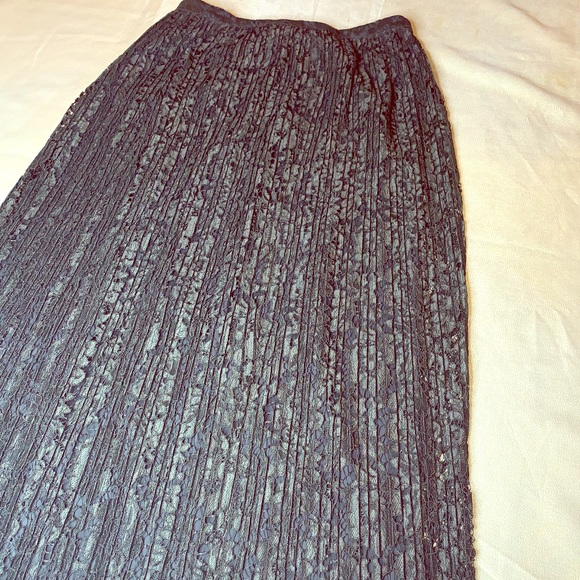 Banana Republic Dresses & Skirts - Lace & Pleated  Maxi Skirt